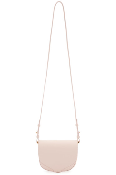 Sophie Hulme - Pink Mini Barnsbury Shoulder Bag