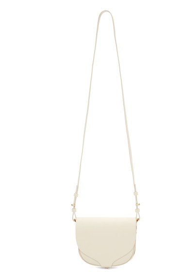 Sophie Hulme - Cream Mini Barnsbury Shoulder Bag