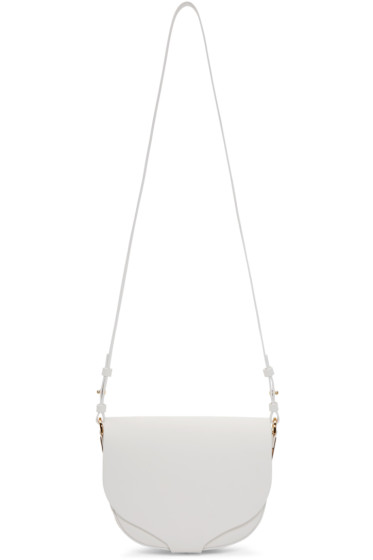 Sophie Hulme - White Medium Barnsbury Bag