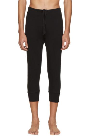 Haider Ackermann - Black Long John Lounge Pants