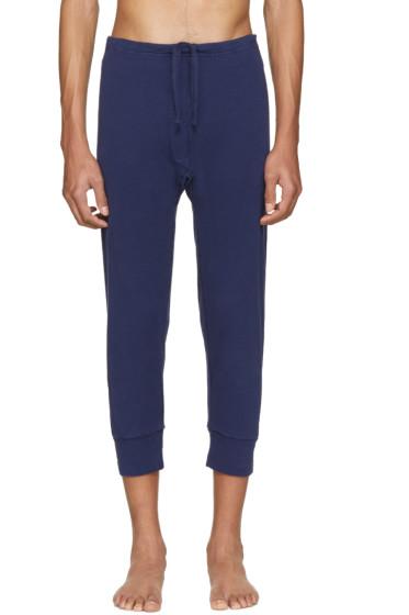 Haider Ackermann - Navy Long John Lounge Pants