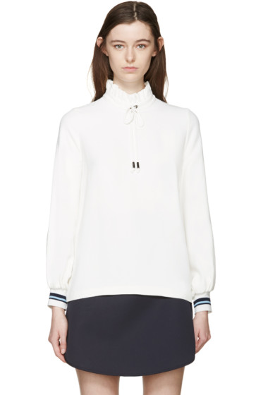 Mother of Pearl - Ivory Minnie Kadi Blouse