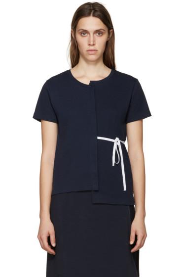 Jacquemus - Navy Deconstructed T-Shirt