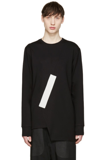 Pyer Moss - Black Fixed Damage Pullover
