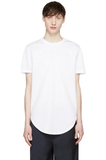Pyer Moss - White Sport Mesh Ryan T-Shirt