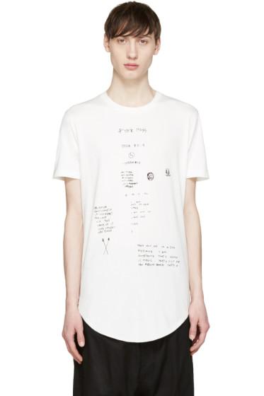 Pyer Moss - White Inner Tag T-Shirt