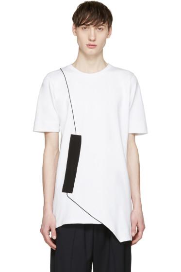 Pyer Moss - White Fixed Damage T-Shirt