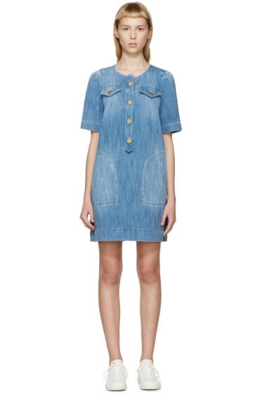 Isabel Marant Etoile - Blue Denim Oriane Dress
