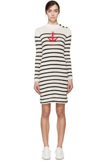 Isabel Marant Etoile - Ecru & Black Striped Earl Dress