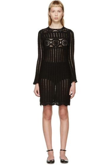Isabel Marant Etoile - Black Crocheted Hariett Dress