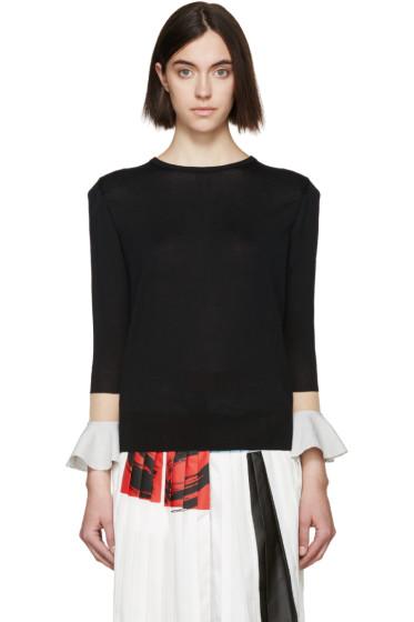 Toga - Black Floating Sleeve Sweater