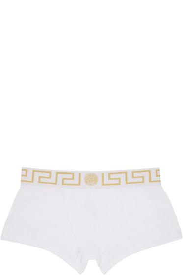 Versace Underwear - White Briefs Two-Pack