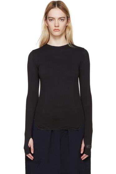 Y-3 SPORT - Black Knit Pullover