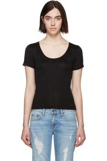 Rag & Bone - Black Melrose T-Shirt