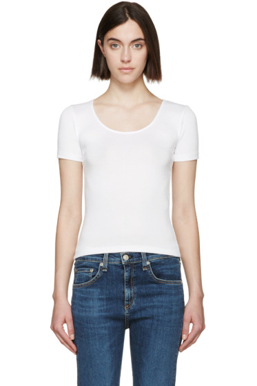 Rag & Bone - White Melrose T-Shirt