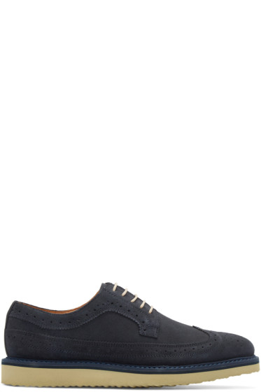 Tiger of Sweden - Navy Suede Charly Brogues