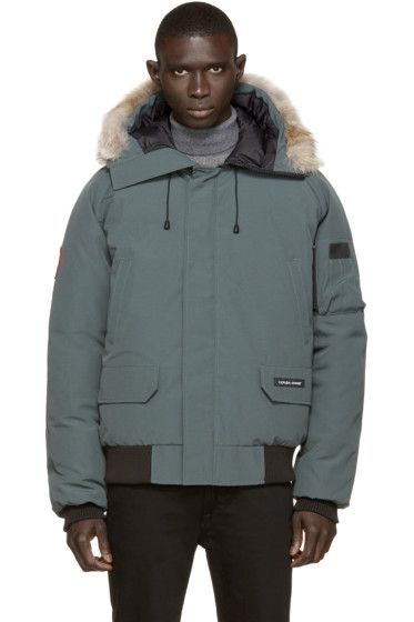 Canada Goose - Green Down & Fur Chilliwack Bomber