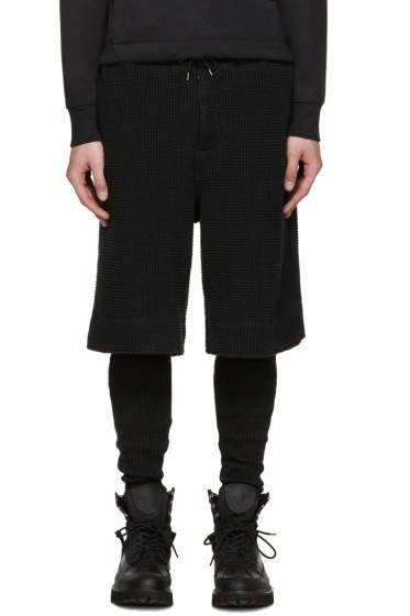 Sasquatchfabrix - Black Layered Lounge Pants