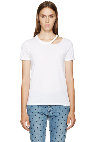 Stella McCartney - White Chain T-Shirt