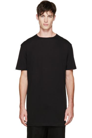 Thamanyah - Black Fine Cotton T-Shirt