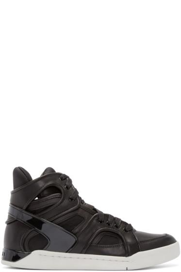 Diesel - Black S-TITANN High-Top Sneakers