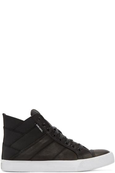Diesel - Black Tunnyngs High-Top Sneakers
