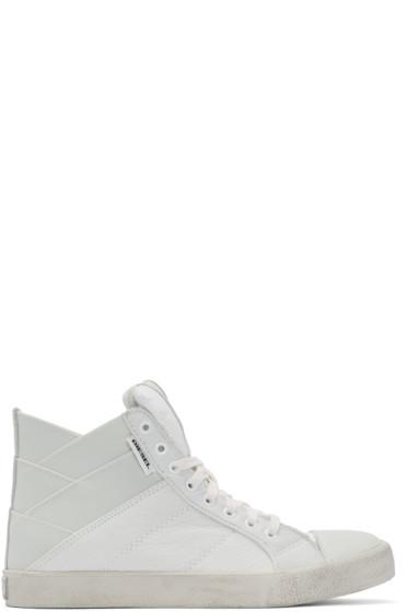 Diesel - Off-White Tunnyungs High-Top Sneakers