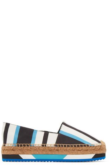 Dolce & Gabbana - Tricolor Striped Espadrilles