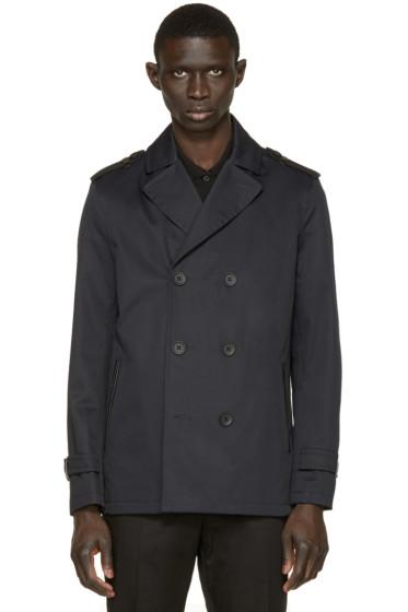Mackage - Navy Twill Alwyn Trench Coat