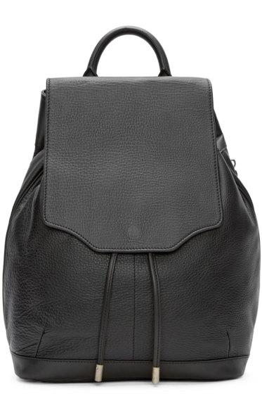 Rag & Bone - Black Leather Pilot Backpack