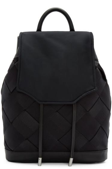Rag & Bone - Black Woven Pilot Backpack