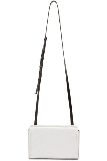 Rag & Bone - White Leather Mini Aston Bag