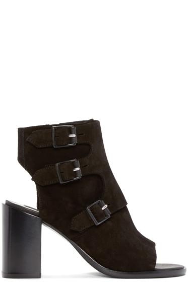 Rag & Bone - Black Suede Marta Boots