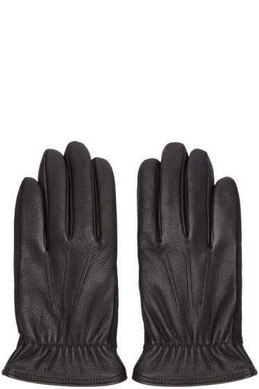 Rag & Bone - Black Leather Windsor Gloves