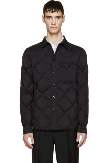 Rag & Bone - Black Quilted Down Mallory Jacket