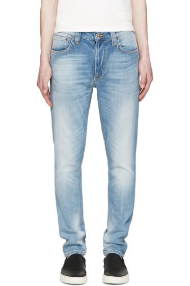 Nudie Jeans - Blue Lean Dean Jeans