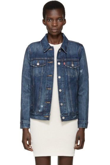 Levi's - Blue Denim Boyfriend Trucker Jacket