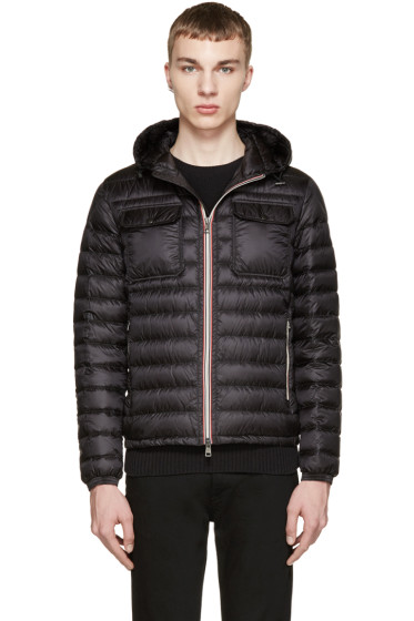 Moncler - Black Down Douret Jacket