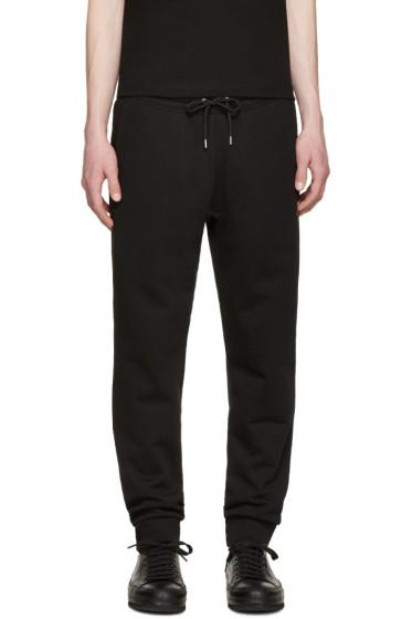 McQ Alexander Mcqueen - Black Logo Lounge Pants