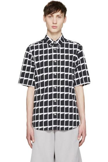 McQ Alexander Mcqueen - Black & White Shields Shirt