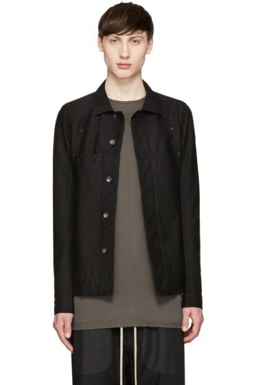 Rick Owens Drkshdw - Black Lab Jacket