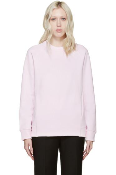 Acne Studios - Pink Fleece Nikoleta Sweatshirt