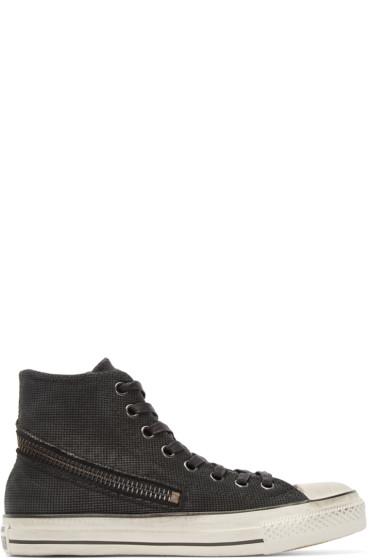 Converse by John Varvatos - Black Tornado Zip High-Top Sneakers