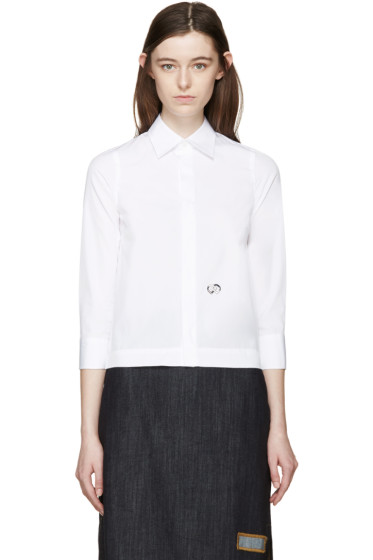 Dsquared2 - White Poplin Shirt
