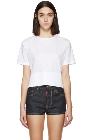 Dsquared2 - White Poplin Mya T-Shirt