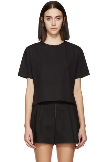 Dsquared2 - Black Poplin Mya T-Shirt