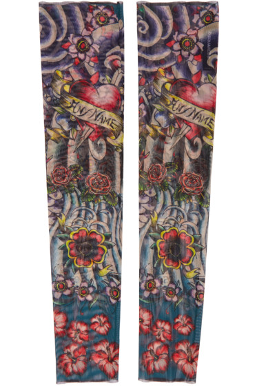Dsquared2 - Multicolor Mesh Tattoo Sleeves
