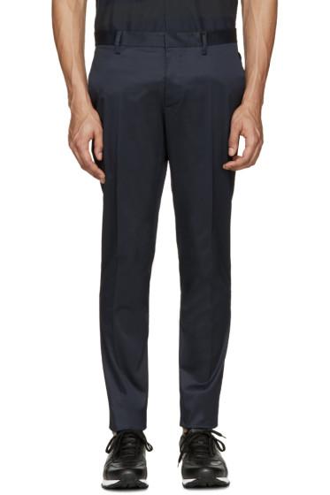 Dsquared2 - Navy Raw Hem Trousers