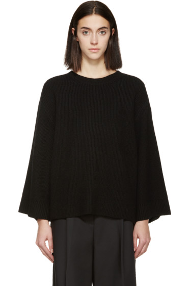 Helmut Lang - Black Wool & Cashmere Sweater