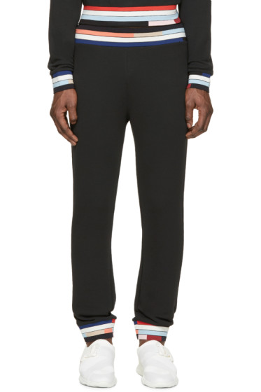 Christopher Kane - Black Bolster Lounge Pants